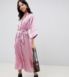 Платье миди в горошек Vero Moda Tall - Мульти