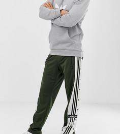 Джоггеры цвета хаки на кнопках adidas Originals Adibreak - Зеленый