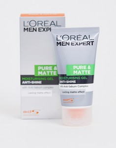 Увлажняющее средство LOreal Men Expert Pure & Matte Anti-Shine Moisturiser - 50 мл - Бесцветный
