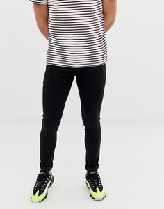 Черные джинсы скинни Mennace - Черный