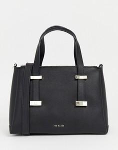 Структурированная сумка-тоут Ted Baker Julieet - Черный