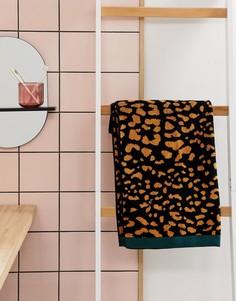 Банное полотенце со звериным принтом ASOS SUPPLY - Мульти