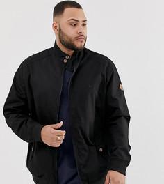 Черно-синяя куртка Харрингтон Duke King Size - Черный