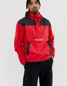 Красная ветровка Columbia Challenger - Красный