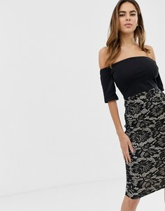 Платье 2 в 1 AX Paris - Черный