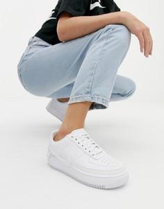 Белые кроссовки Nike Air Force 1 Jester - Белый