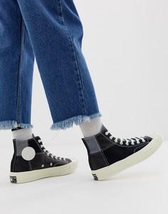 Кеды в стиле пэтчворк Converse Chuck 70 - Черный