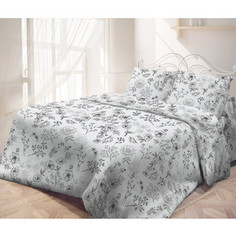 Комплект постельного белья Самойловский текстиль евро, перкаль, Утро (714293)