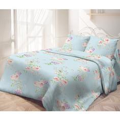 Комплект постельного белья Самойловский текстиль евро, бязь, Английские розы (714127)