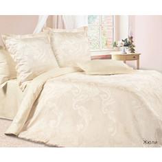 Комплект постельного белья Ecotex Семейный, сатин-жаккард, Жюли (КЭДЖюли)