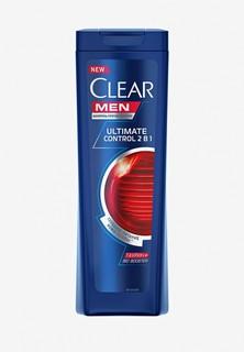 Шампунь Clear 2 в 1 против перхоти для мужчин Ultimate control, 200мл