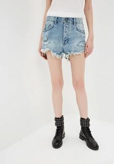 Шорты джинсовые One Teaspoon OUTLAWS