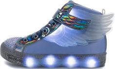 Кеды для девочек Skechers Shuffle Brights-Sparkle Wings, размер 33