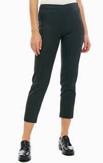 Черные зауженные брюки в классическом стиле United Colors of Benetton