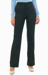 Черные расклешенные брюки в классическом стиле United Colors of Benetton