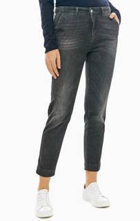 Укороченные серые джинсы зауженного кроя United Colors of Benetton