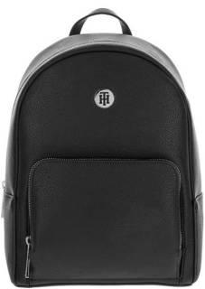 Черный городской рюкзак с тонкими лямками Tommy Hilfiger