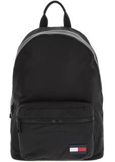 Черный текстильный рюкзак с широкими лямками Tommy Hilfiger