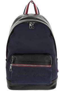 Вместительный городской рюкзак из текстиля Tommy Hilfiger