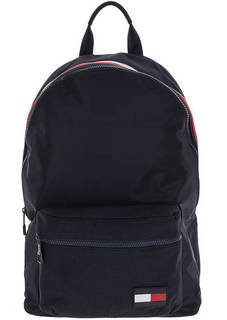 Синий текстильный рюкзак с широкими лямками Tommy Hilfiger