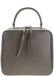 Маленький серый рюкзак из сафьяновой кожи Gianni Chiarini