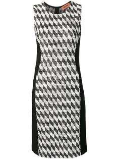 Missoni фактурное платье без рукавов