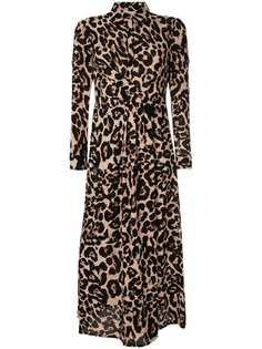 Baum Und Pferdgarten леопардовое платье-рубашка