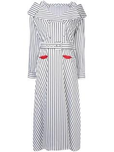 Vivetta двубортное платье с поясом