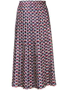 Valentino юбка с принтом ракушек