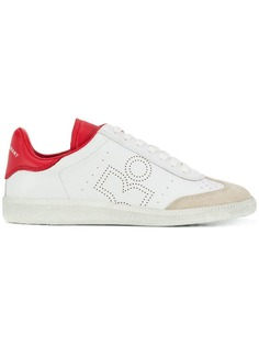 Isabel Marant perforated low top trainers