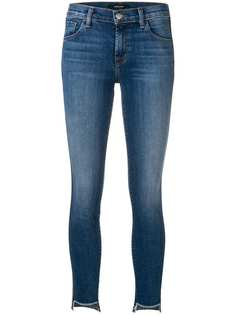 J Brand cut-out hem skinny jeans