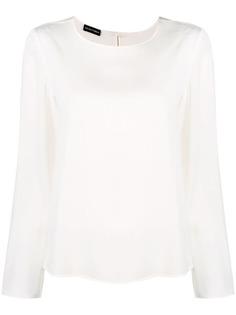 Emporio Armani блузка прямого кроя