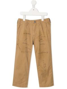 Denim Dungaree брюки чинос с принтом