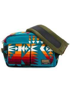 Sacai geometric print belt bag