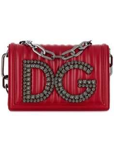 Dolce & Gabbana сумка на плечо DG girls