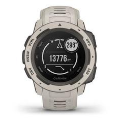 "Смарт-часы GARMIN Instinct Tundra, 45мм, 0.9"", светло-серый / светло-серый [010-02064-01]"