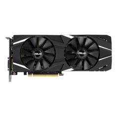 Видеокарта ASUS nVidia GeForce RTX 2060 , DUAL-RTX2060-O6G, 6Гб, GDDR6, OC, Ret