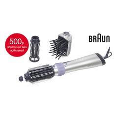 Фен-щетка BRAUN AS 530 MN, черный