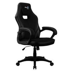Кресло игровое AEROCOOL AERO 2Alpha, на колесиках, ткань дышащая, черный [2 alpha black]