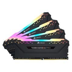 Модуль памяти CORSAIR Vengeance RGB Pro CMW64GX4M4K3600C18 DDR4 - 4x 16Гб 3600, DIMM, Ret