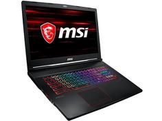 Ноутбук MSI GE73 Raider RGB 8RF-667XRU MS-17C5 9S7-17C512-667 Black (Intel Core i7-8750H 2.2GHz/8192Mb/1000Gb+128Gb/No ODD/nVidia GeForce GTX 1070 8192Mb/Wi-Fi/Bluetooth/Cam/1920x1080/DOS)