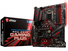 Материнская плата MSI MPG Z390 GAMING PLUS