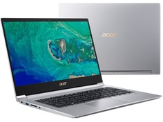 Ноутбук Acer Swift 3 SF314-55G-74ZE Silver NX.H3UER.004 (Intel Core i7-8565U 1.8 GHz/8192Mb/512Gb SSD/nVidia GeForce MX150 2048Mb/Wi-Fi/Bluetooth/Cam/14.0/1920x1080/Windows 10)