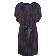 Платье прямое с поясом на завязках Numph