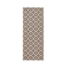 Ковер горизонтального плетения с рисунком цементная плитка, Iswik LA Redoute Interieurs