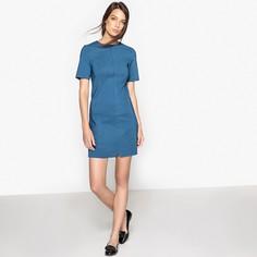 Платье однотонное на молнии спереди LA Redoute Collections