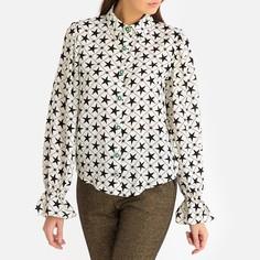 Блузка с рисунком звезды и пуговицами в виде украшений Sister Jane