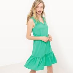 Платье с баской без рукавов LA Redoute Collections