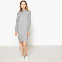 Платье с воротником-отворотом, из кашемира LA Redoute Collections