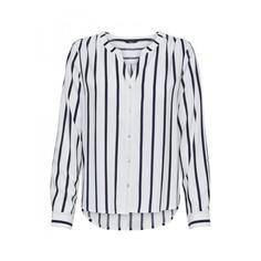 Блузка в полоску из струящейся ткани Sugar Fallow Ls Shirt Only